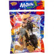 Набор игр.военный с 2 спецназовцами и собакой, серия МиниМаниЯ, РАС 15х23 см, арт.M7596-5.