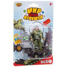 Набор игр.военный с солдатиком ,серия Мир micro Игрушек, CRD 13,5x20x3,5 см, арт.M7597-3. grt-К93740 YAKO 137 р. Наборы солдатиков, полиции, пожарных