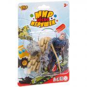 Набор игр.военный с полицейским ,серия  Мир micro Игрушек, CRD 13,5x20x3,5 см, арт.M7598-1.