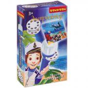 Диапроектор-фонарик Bondibon, 3 диска со слайдами (животные), BOX 13х7,5х3,5 см
