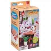 Игровой набор Happy Family с фигуркой зверюшки, кухня, 7,5х12,5х6,52 см, BOX, арт.012-01B.