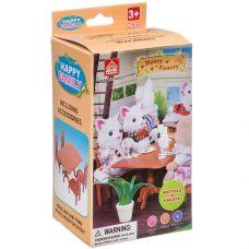 Игровой набор Happy Family с фигуркой зверюшки, кухня, 7,5х12,5х6,52 см, BOX, арт.012-01B. grt-Д93754 279 р. Домики, замки,кареты