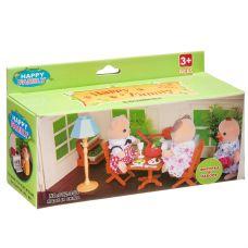Игровой набор Happy Family с фигуркой зверюшки, кухня, 15х6,5х4,5 см, BOX, арт.012-04B. grt-Д93756 315 р. Домики, замки,кареты