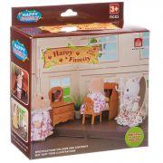 Игровой набор Happy Family с фигуркой зверюшки, комната,12х11,5х4,5 см, BOX, арт.012-05B.