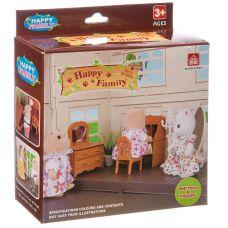 Игровой набор Happy Family с фигуркой зверюшки, комната,12х11,5х4,5 см, BOX, арт.012-05B. grt-Д93686 336 р. Домики, замки,кареты