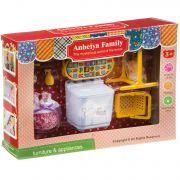 Игровой набор Happy Family с фигуркой зверюшки, домохозяйка , 26,3х18,9х5,7 см, BOX, арт.1513B.