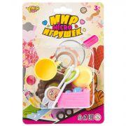 Набор сладости 8 предметов, серия Мир micro Игрушек, CRD 13,5х20 см, арт.M7638.