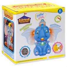 Игр. пласт. на бат. музык., светящ. и движущ. Слон, звуки слона, проектор, ВОХ 10х24х19 см, арт. 179 grt-Б93903 670 р. Развивающие игрушки на батарейках