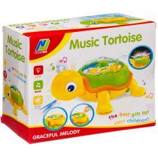 Игр. пласт. на бат. музык.,светящ. и движущ. Черепаха, ВОХ 19х16х9 см, арт.081. grt-Б93913 562 р. Развивающие игрушки на батарейках