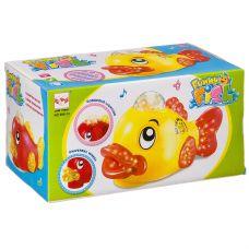 Игр. пласт. на бат. музык., светящ. и движущ. Рыбка, ВОХ 18х10х9,5 см, 2 вида, арт.696-13. grt-Б93914 346 р. Развивающие игрушки на батарейках