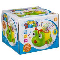 Игр. пласт. на бат. музык.,светящ. и движущ. Маленькая Пчёлка, ВОХ 16х16х13 см, арт.DL-303. grt-Б93924 595 р. Развивающие игрушки на батарейках