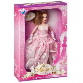 Кукла  в бальном платье, ВОХ 35х22х6 см, 5 видов, арт.0622N.