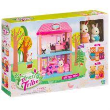 Игровой набор 2-этажный дом ( гостиная ,спальня) Forest Ttibe с фигурками зверюшек, BOX, арт.60233 grt-Д93994 1 228 р. Домики, замки,кареты