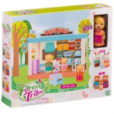 Игровой набор Супермаркет Forest Ttibe с фигуркой зверюшки, BOX 28х5х22,8 см, арт.60232. grt-Д93995 816 р. Домики, замки,кареты
