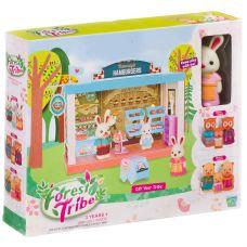 Игровой набор Закусочная Forest Ttibe с фигуркой зверюшки, BOX 28х5х22,8 см, арт.60231. grt-Д94004 814 р. Домики, замки,кареты
