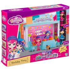 Игровой набор Birthday Party дом с куколками, ВОХ 31х25х5,5 см, арт.60215. grt-Д94013 905 р. Домики, замки,кареты