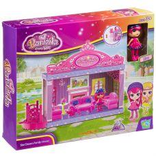 Игровой набор Дом- гостиная с куколкой, ВОХ 28х23х5 см, арт.60311. grt-Д94007 863 р. Домики, замки,кареты