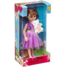 """Кукла Defa Lucy с мишкой 6"""", в ассорт. 3 вида, BOX, арт. 8280. grt-Д94410 DEFA 345 р. Куклы и пупсы классические (нефункциональные)"""
