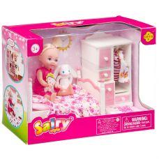 """Кукла Defa Sairy в спальне 4"""", в ассорт. 2 вида, BOX, арт. 8392. grt-Д94411 DEFA 1 053 р. Куклы и пупсы классические (нефункциональные)"""