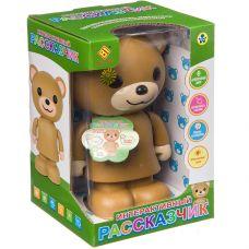 Игр. пласт. на бат. Медведь-Интерактивный рассказчик, ВОХ 14,6х13,5х21,7см grt-Б94414 1 091 р. Развивающие игрушки на батарейках