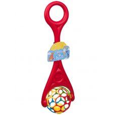 Каталка шар с ручкой, 63х19х14 см, арт.3501. grt-Н94316 894 р. Каталки на веревке, палочке