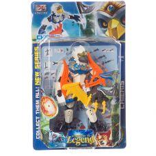 Робот пласт. LEGEND, CRD 32x20x6,5 см, 6 видов, арт.006-37. grt-Л94327 342 р. Роботы