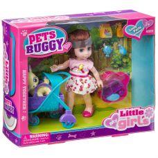 Набор игровой с куклой Pets Buggy, BOX, 2 вида, арт.63002. grt-Д94365 771 р. Куклы и пупсы классические (нефункциональные)