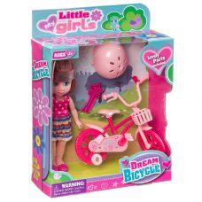 Набор игровой с куклой Dream Bicycle, BOX, 2 вида, арт.63004. grt-Д94367 601 р. Куклы и пупсы классические (нефункциональные)