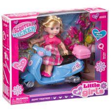 Набор игровой с куклой Scooter Kicker, BOX, 2 вида, арт.63011. grt-Д94368 756 р. Куклы и пупсы классические (нефункциональные)