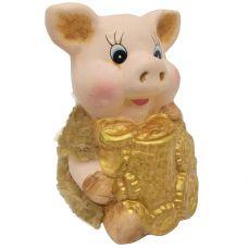 н.г. символ года фигурка свинья 6,4*5,3*8,8см grt-Е96596 Snowmen 83 р. Фигурки из керамики и полистоуна