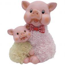 фигурка свинья 11*8*13см grt-Е96611 Snowmen 494 р. Фигурки из керамики и полистоуна