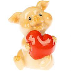 н.г. символ года фигурка свинья 3*4*5см grt-Е96615 Snowmen 70 р. Фигурки из керамики и полистоуна