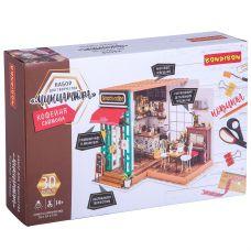 Набор для творчества BONDIBON, миниатюра интерьерная 3D, КОФЕЙНЯ САЙМОНА, румбокс grt-ВВ3336 Bondibon 3 428 р. Поделки из бумаги и картона