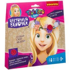 Набор для творчества BONDIBON. Цветочный веночек. grt-ВВ3224 Bondibon 242 р. Аксессуары для волос (резинки, заколки, ободки)