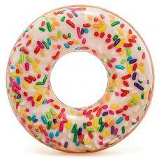 Круг Пончик с обсыпкой 99х25 см от 9 лет grt-И56263 INTEX 635 р. Надувные круги