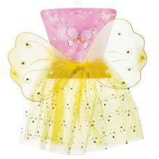 карнав.наб. принцессы (юбка с блестками, крылья бабочки) размер 4-6 grt-Е96621 Snowmen 497 р. Костюмы и аксессуары детские