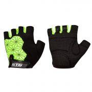 Перчатки STG мод. Replay unisex   черно/зеленые. размер L