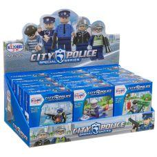 Набор конструкторов CITY POLICE, 12 шт., 6 видов 12x14x4 см , арт.1205. grt-Г95927 2 177 р. Полиция