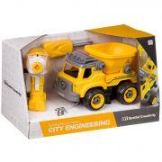 Конструктор-машина на р/у, CITY ENGINEERING, BOX 33x13,5x19,2 см, арт. LM8016-YZ-1.