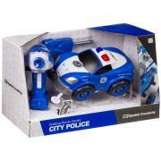 Конструктор-машина на р/у, CITY  POLICE, BOX 33x13,5x19,2 см, арт. LM8021-YZ-1.