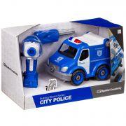 Конструктор-машина на р/у, CITY  POLICE, BOX 33x13,5x19,2 см, арт. LM8022-YZ-1.