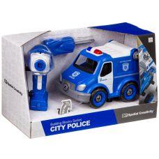Конструктор-машина на р/у, CITY POLICE, BOX 33x13,5x19,2 см, арт. LM8022-YZ-1. grt-М96080 1 580 р. Машины и прочий транспорт