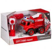Конструктор-машина на р/у, CITY FIRE FIGHT, BOX 33x13,5x19,2 см, арт. LM8032-YZ-1.
