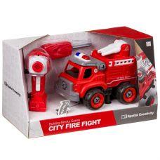 Конструктор-машина на р/у, CITY FIRE FIGHT, BOX 33x13,5x19,2 см, арт. LM8032-YZ-1. grt-М96081 1 581 р. Машины и прочий транспорт
