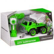 Конструктор-машина на р/у, CITY SANITATION , BOX 33x13,5x19,2 см, арт. LM8042-YZ-1.