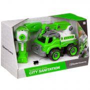 Конструктор-машина на р/у, CITY SANITATION , BOX 33x13,5x19,2 см, арт. LM8044-YZ-1.