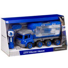 Конструктор-машина на р/у, CITY POLICE TRUCK, BOX 50,1x13,1x26 см, арт. LM8027-YZ-1. grt-М96085 2 808 р. Машины и прочий транспорт