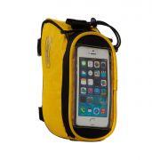 Велосумка Roswheel мод.12496S-CF5 на раму, для телефона размер S Желтая