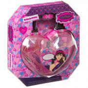 Набор детской декор. косметики Bondibon Eva Moda, BOX 24*4*27 см; косметичка-сумочка, тени для век 5