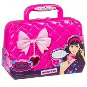Набор детской декор. косметики Bondibon Eva Moda, BOX 20*5,5*17,8 см; косметичка-сумочка с бантиком,